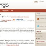Free Blogger Templates Download: Flamingo