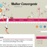 Free Blogger Templates Download: Mulher Convergente