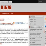 Free Blogger Templates Download: Snejan