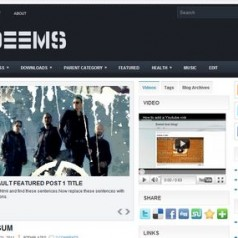 Free Blogger Template Download: Deems