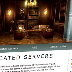 Website Review: ServerClub Dedicated Hosting Services